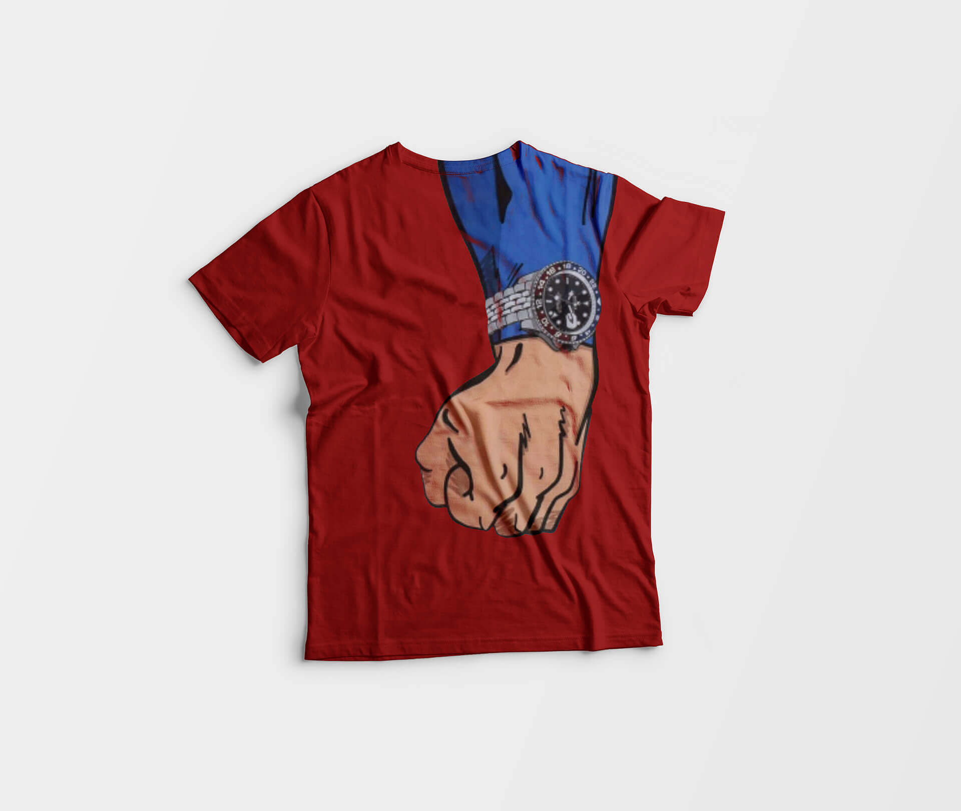 octa-portfolio-grafica-07---Herologery---Mockup-T-Shirt-Superman-